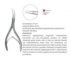 Endodontische Klemme 118-125